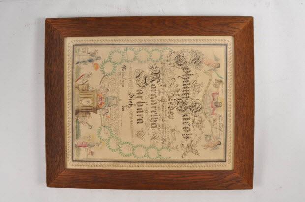 aquarelle - Souvenir de mariage