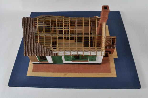 maquette d'édifice