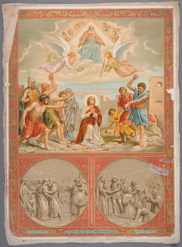image pieuse - CATECHISME EN IMAGES CINQUIEME COMMANDEMENT DE DIEU : HOMMICIDE POINT NE SERAS ... (Suite).