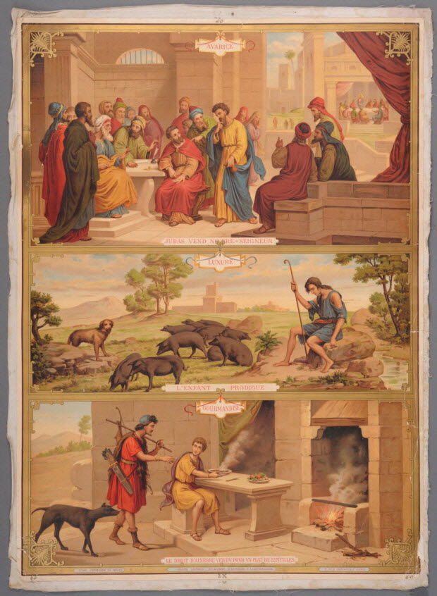 image pieuse - N°.60. CATECHISME EN IMAGES