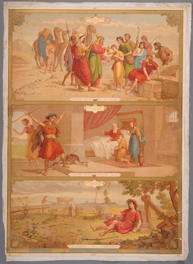 image pieuse - N°61 CATECHISME EN IMAGES