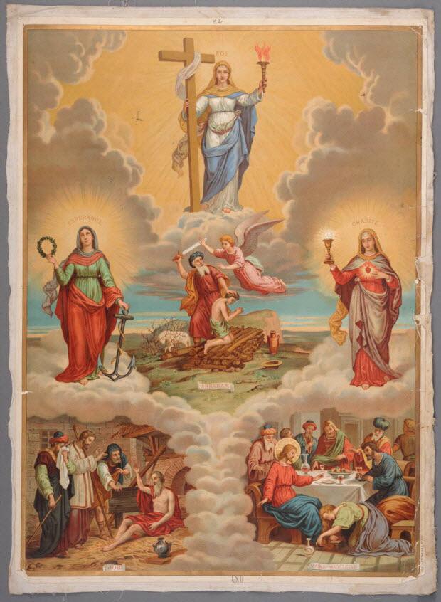 image pieuse - N° 62. CATECHISME EN IMAGES