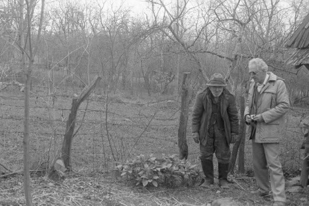 photographie - Jean Cuisenier et le sorcier
