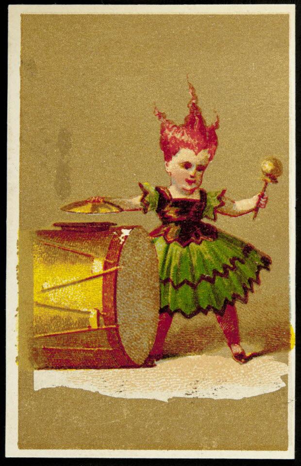 carte réclame - Le Cirque (Enfant en situation)