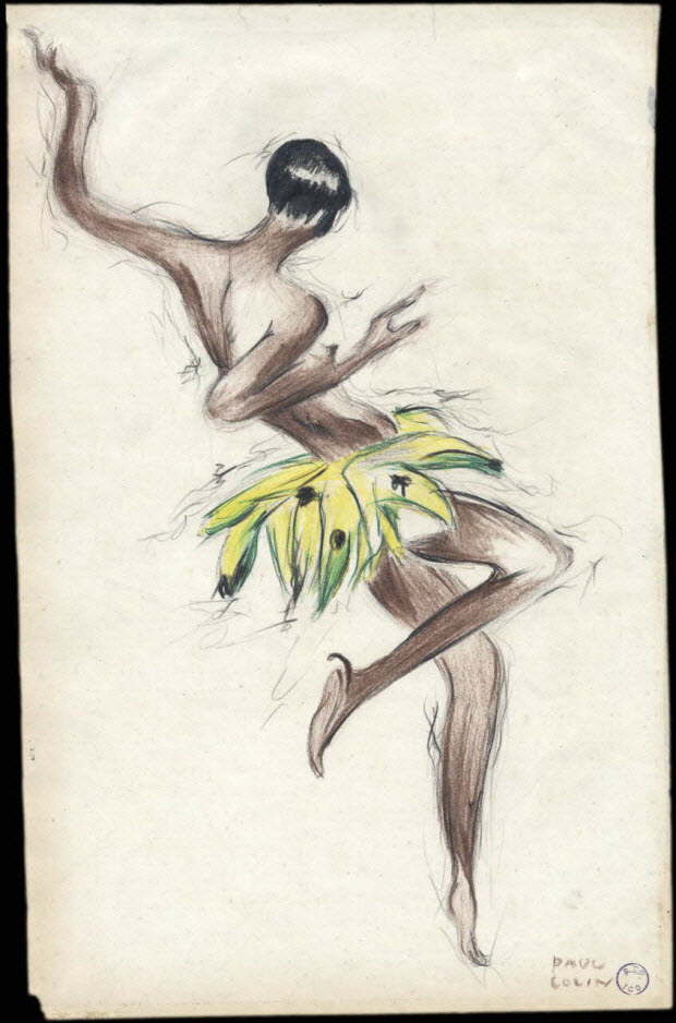 dessin - Joséphine Baker