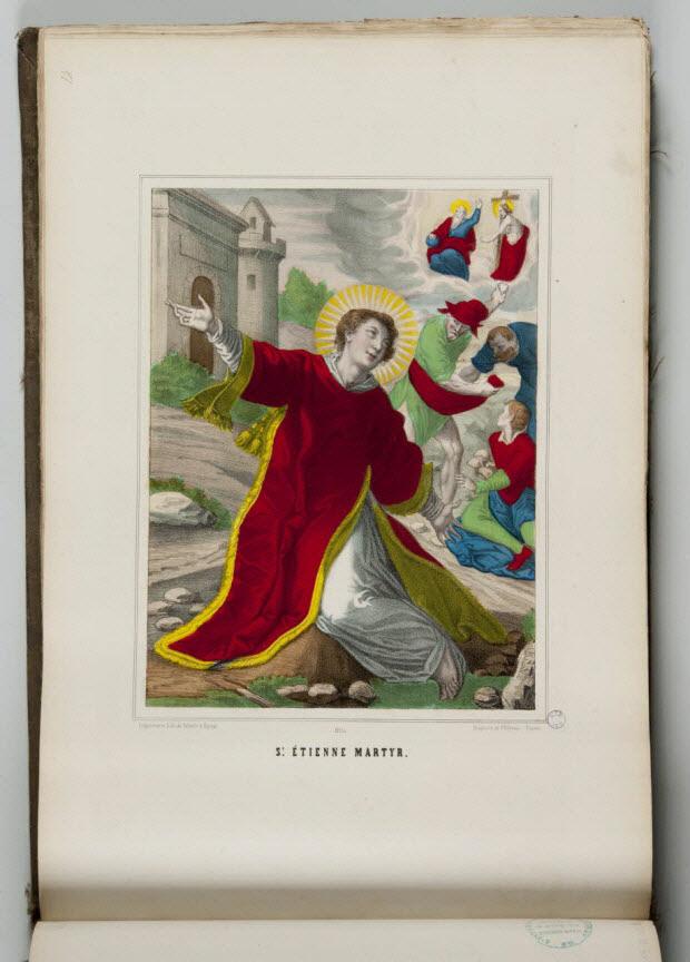 album - ST. ETIENNE MARTYR.