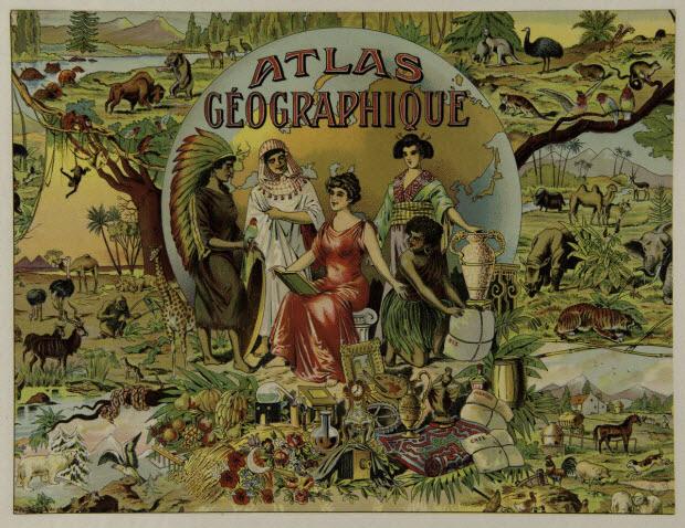 jeu de société - ATLAS GEOGRAPHIQUE