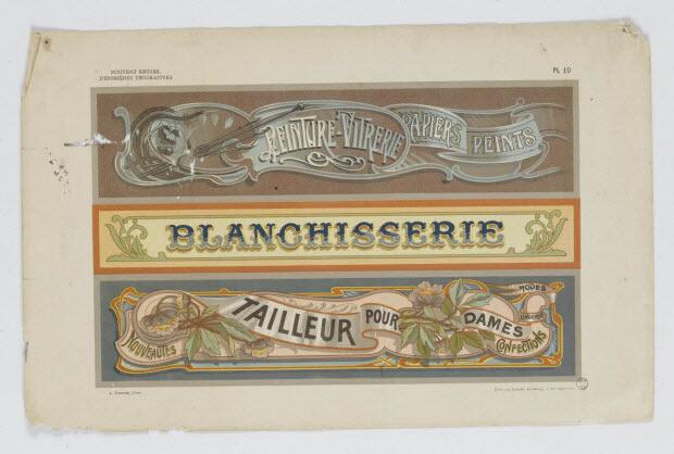 à registres (3) - BLANCHISSERIE