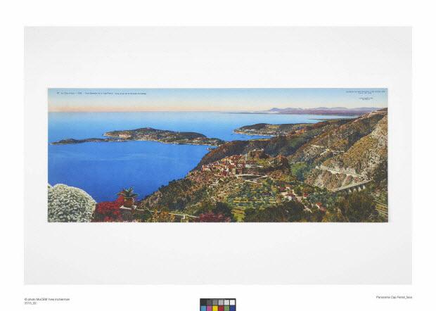 chromolithographie - La Côte d'Azur - Eze