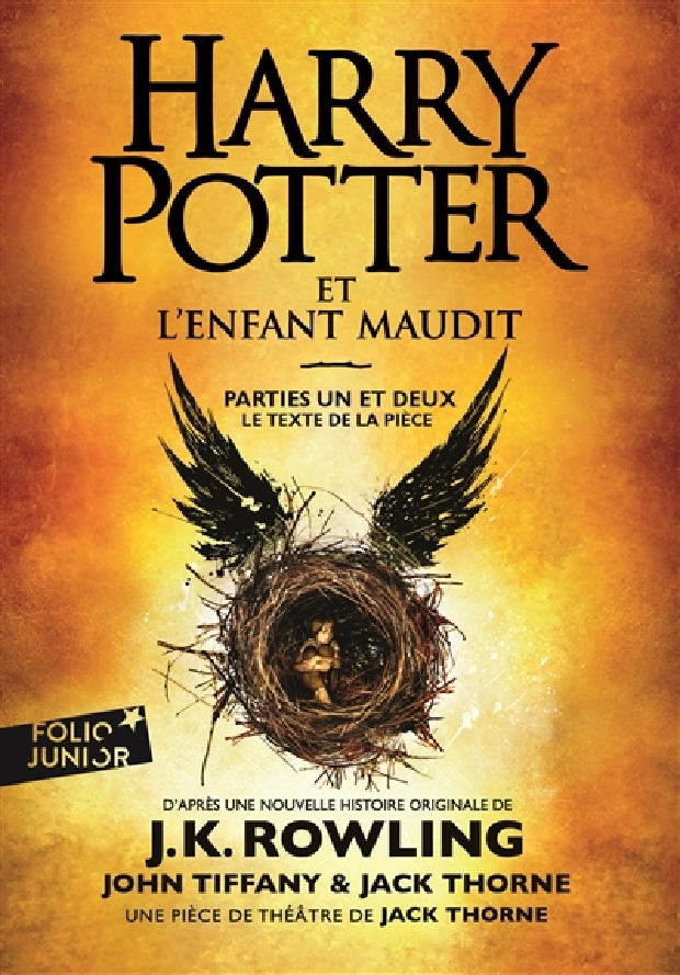 Livre - Harry potter et l'enfant maudit