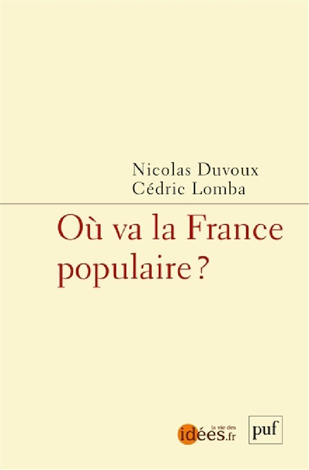 Livre - Où va la France populaire ?
