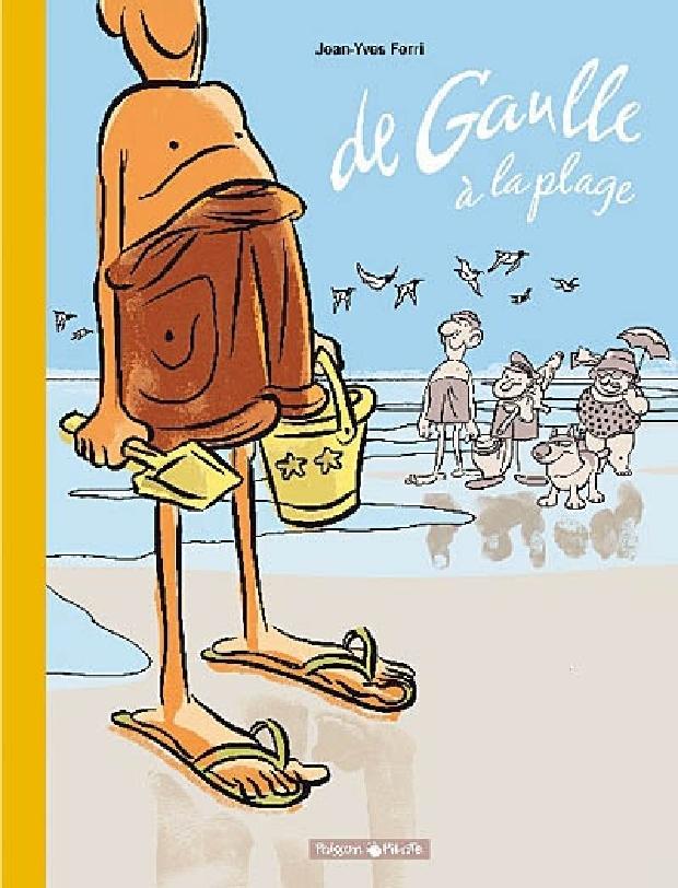 Livre - De Gaulle à la plage