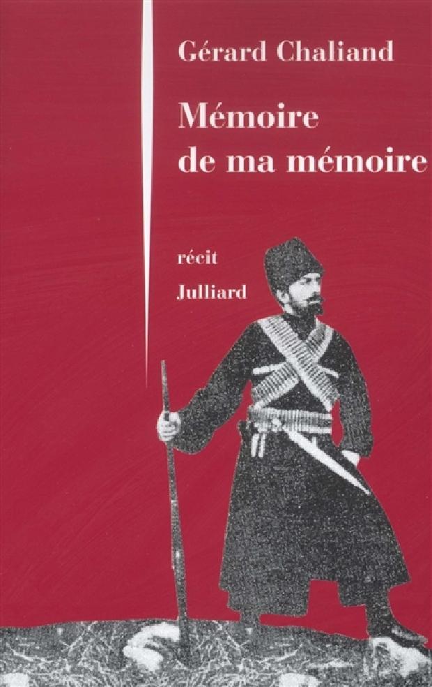 Livre - Mémoire de ma mémoire