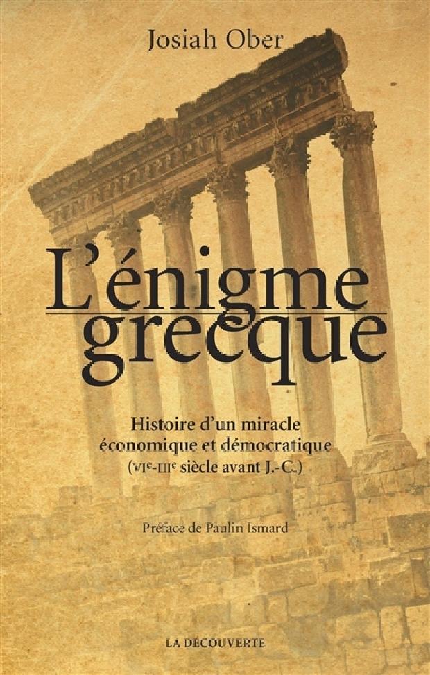 Livre - L'énigme grecque