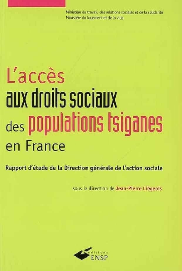 Livre - L'accès aux droits sociaux des populations tsiganes en France