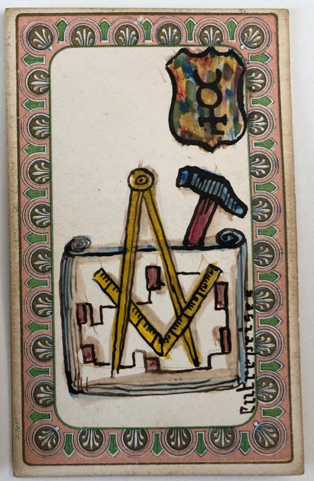 carte à jouer - oracle du mage Edmond