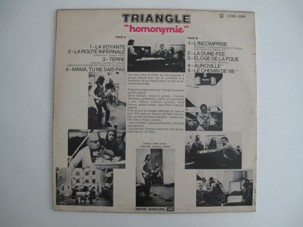 disque 33 tours - Terre