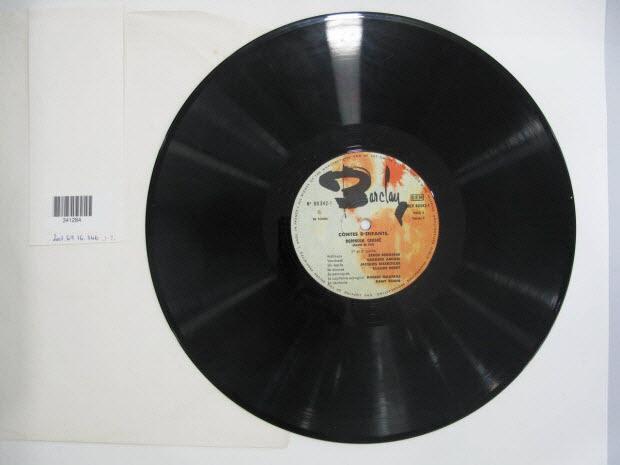 disque 33 tours - Robinson Crusoë
