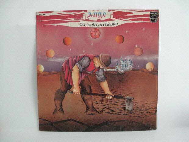 disque 33 tours - Au-delà du délire / Ange
