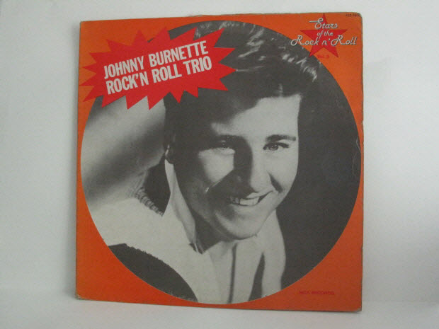 disque 33 tours - Johnny Burnette / Rock'n roll trio