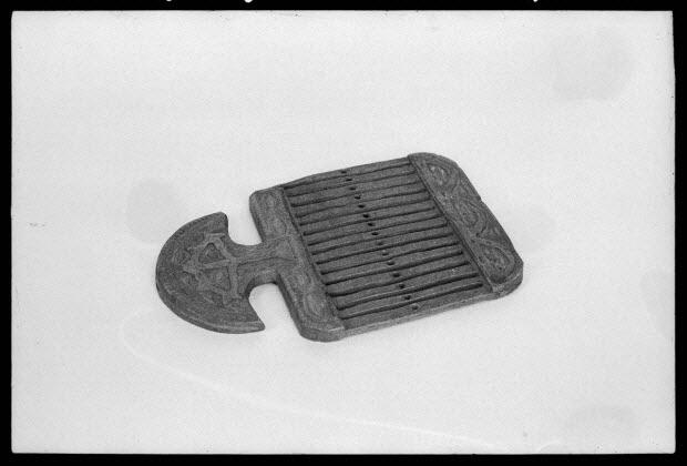 photographie - Passette à rubans en bois et plomb