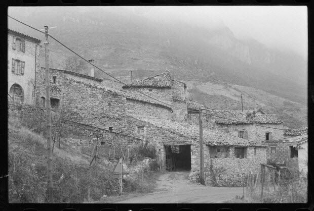 photographie - Maison, à toit à un versant