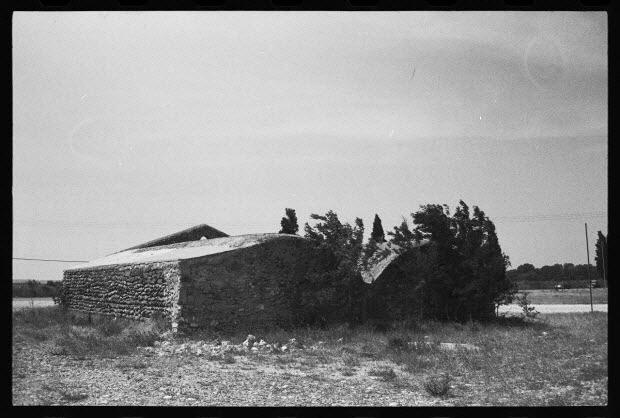 photographie - Bergerie à voûtes de briques