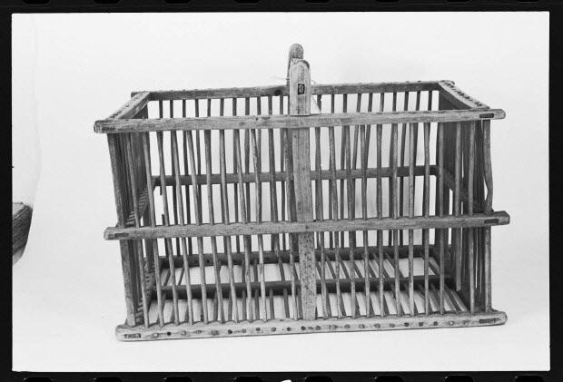 photographie - Panière à linge de la fin du 19è siècle