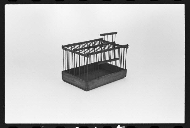 """photographie - Piège à souris. Cage """"vulgaire"""""""