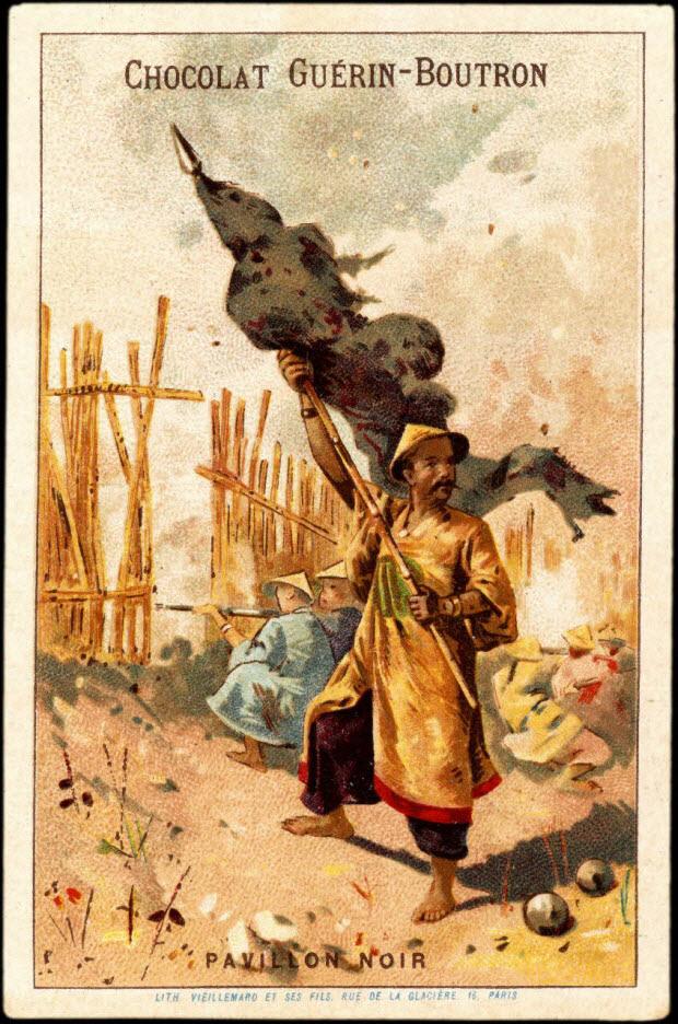 carte réclame - PAVILLON NOIR