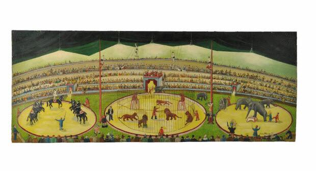 tableau - le cirque