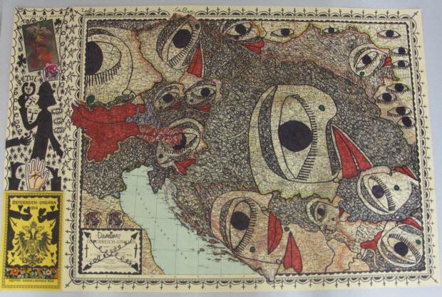 collage - Österreich - Ungarn 1914