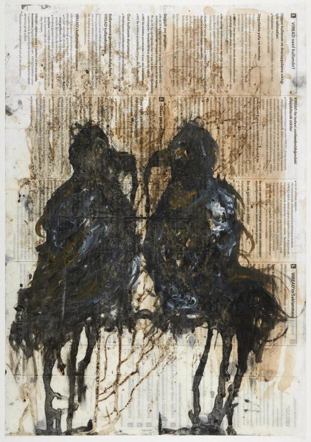 dessin - Deux oiseaux