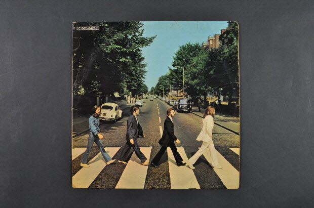 disque 33 tours - Abbey Road / The Beatles