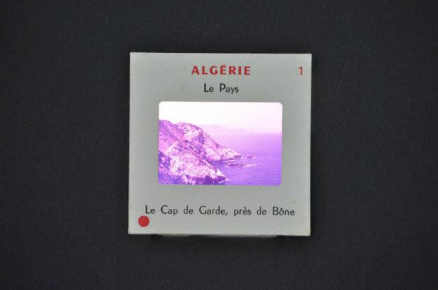 diapositive - Algérie, le Cap de Garde, près de Bône