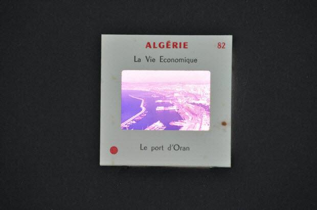 diapositive - Algérie. Le port d'Oran