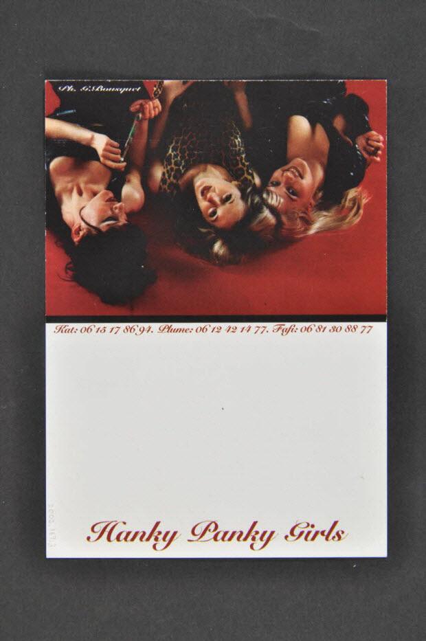 carte postale - Hanky Panky Girls