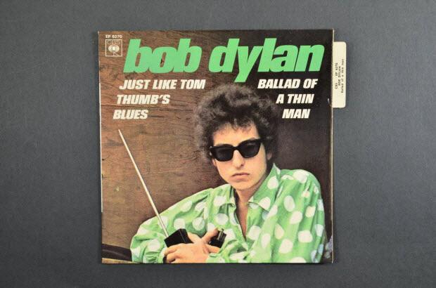 pochette de disque - Ballad of a thin man