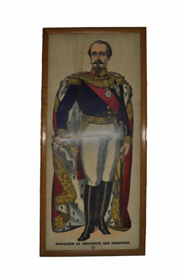 lithographie - Napoléon III empereur des Français