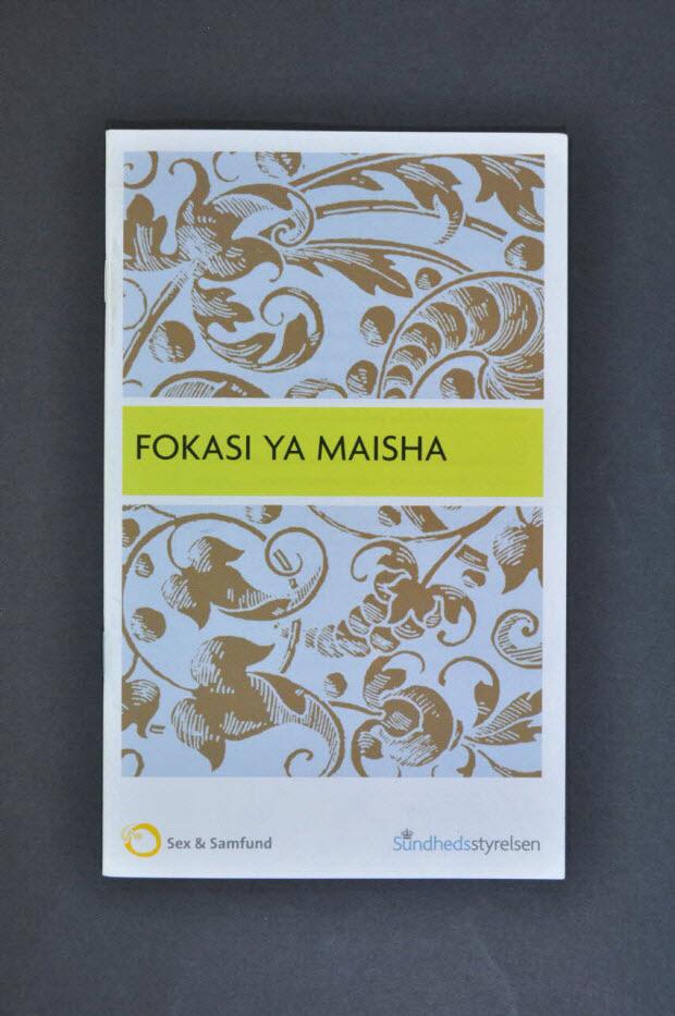 """BROCHURE - """"FOKASI YA MAISHA"""""""