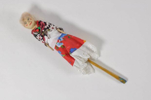 marionnette à tige - La Tzigane