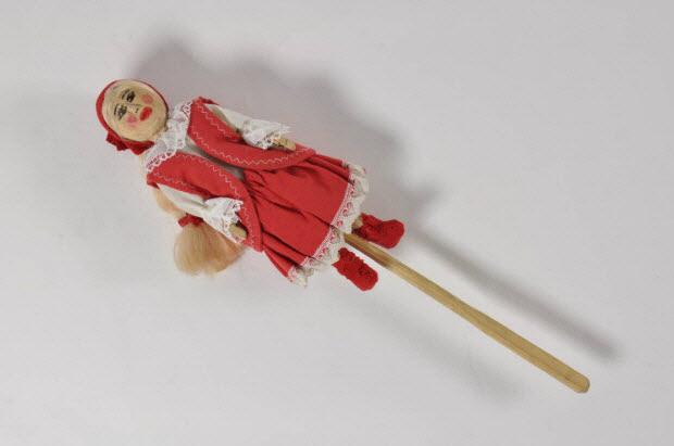 marionnette à tige - Le petit chaperon rouge ?