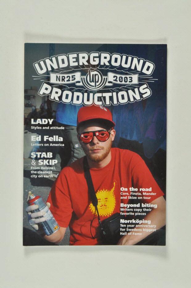 magazine - Magazine Underground Productions 25