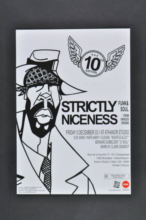 affiche - Concert STRICTLY NICENESS