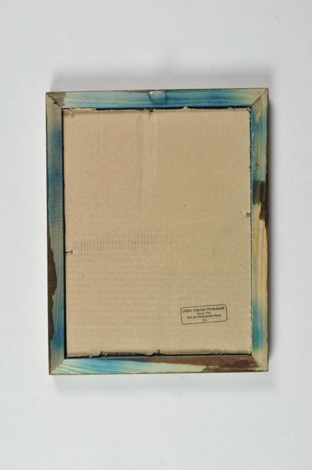 peinture sous verre - Saint Hubert