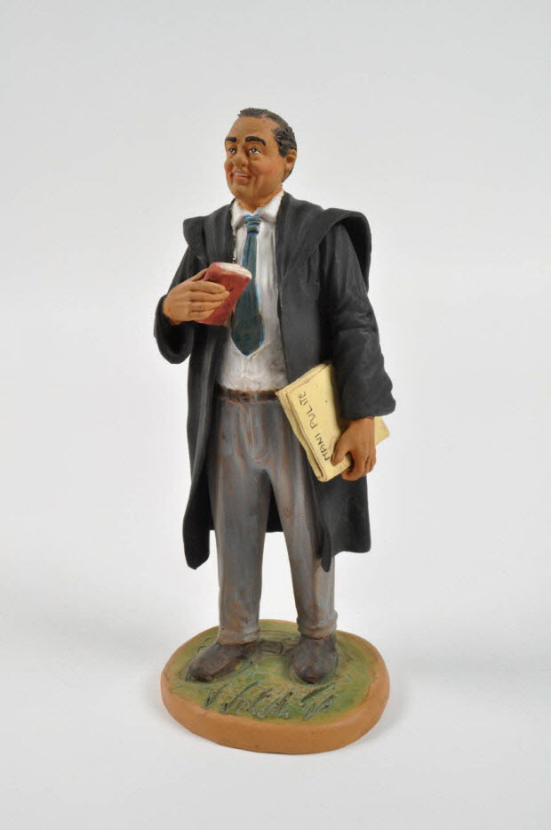figurine de crèche - Juge Antonio di Pietro