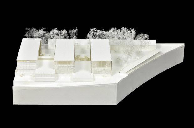 maquette d'architecture - Maquette du concours d'architecture pour le Centre de Conservation du Mucem