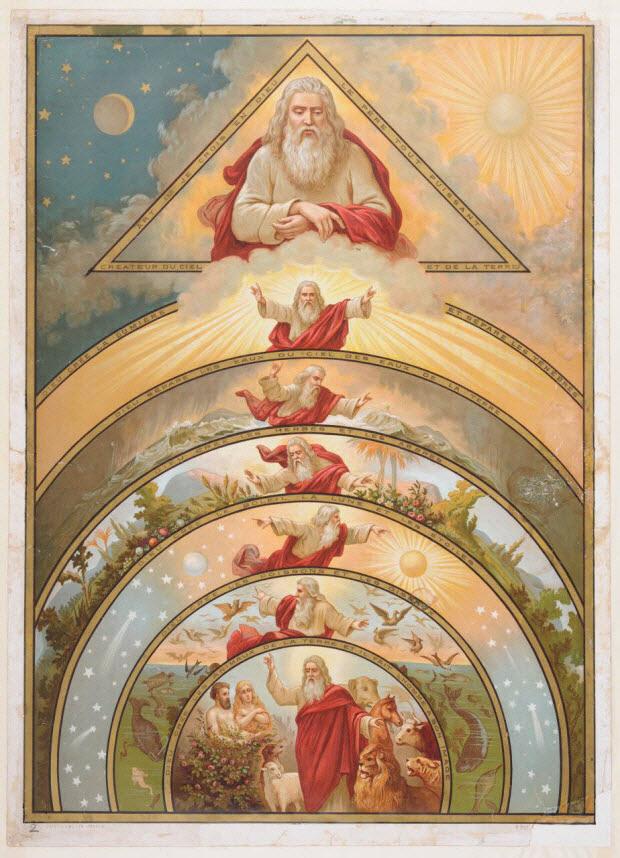 image pieuse - CATECHISME EN IMAGES