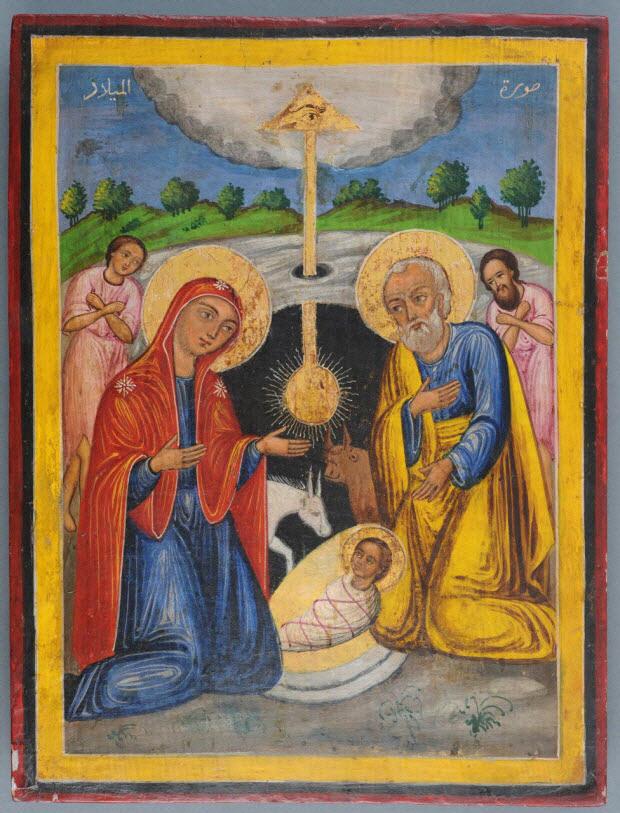 icône - La Nativité