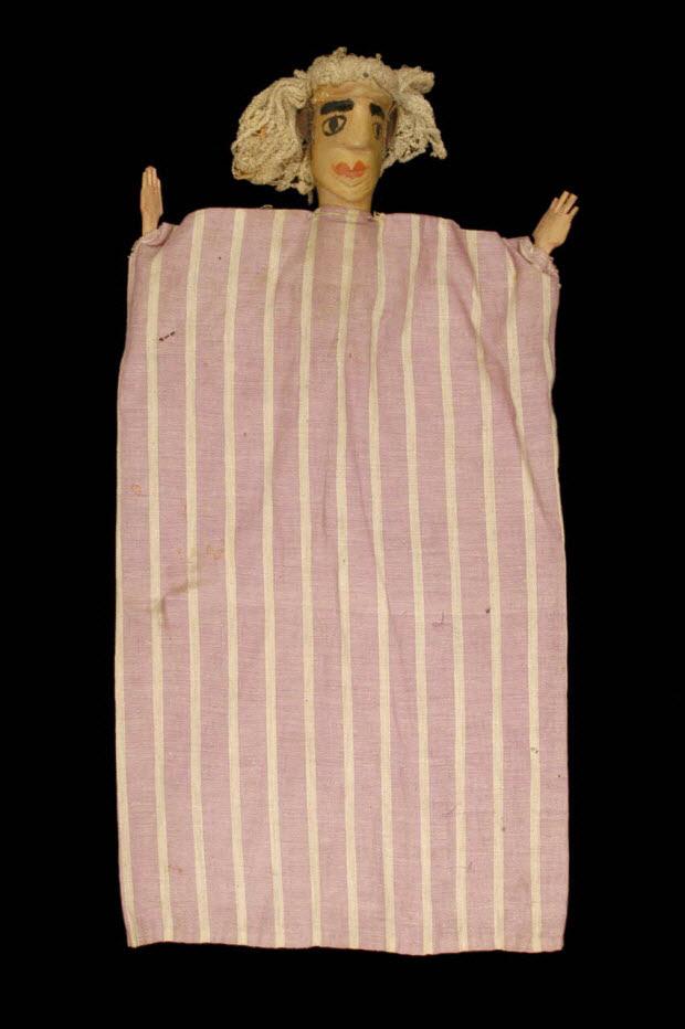 marionnette à gaine - Femme
